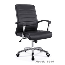 Modern Office PU Faced Swivel Hotel Manager Chair (B646)